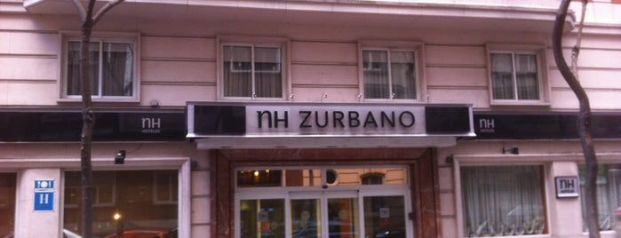 Hotel NH Madrid Zurbano is one of Hotel & BB.