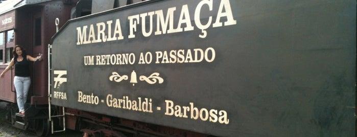 Estação Ferroviária Carlos Barbosa is one of Locais curtidos por 🌸 Tatiana.