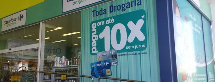 Drogaria Carrefour is one of Tonyさんのお気に入りスポット.