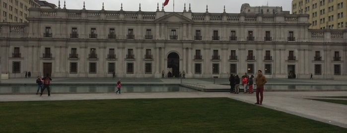 Palacio de La Moneda is one of Chile!.