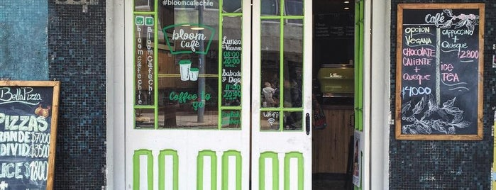 Bloom Specialty Coffee is one of Santiago Specialty Coffee Shops.
