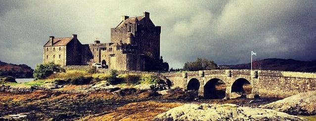 Eilean Donan Castle is one of Before I Die.