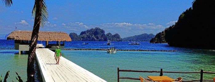 El Nido Miniloc Island Resort is one of WORLDS BEST HOTELS..