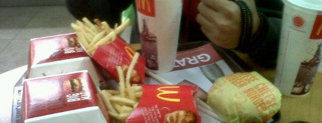 McDonald's is one of Lieux qui ont plu à Patrick.