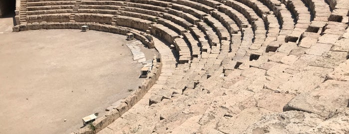 Beit She'an Archeological Site is one of Davidさんのお気に入りスポット.