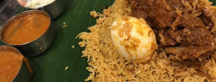 Sakunthala's Food Palace is one of Posti che sono piaciuti a MAC.