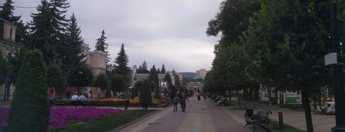 Курортный бульвар is one of KMV.
