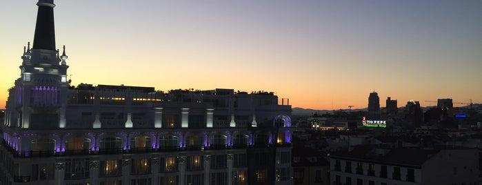 Terrazas Con Vistas De Madrid
