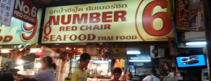 No. 6 Restaurant is one of Phuket.