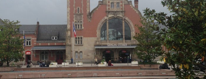 Gare SNCF de Colmar is one of Amit'in Beğendiği Mekanlar.