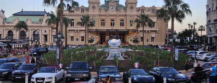 Place du Casino is one of visit again.