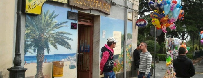 Caffe' Mediterraneo is one of bar.