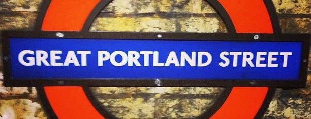 Great Portland Street London Underground Station is one of Orte, die Azeem gefallen.