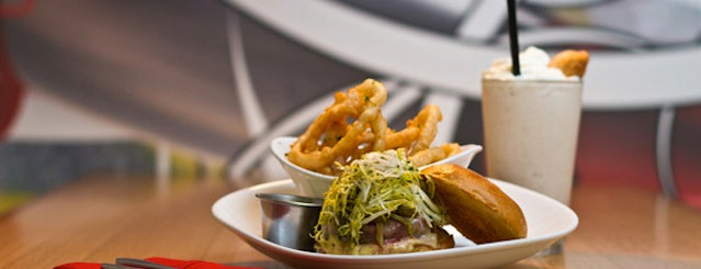 FLiP Burger Boutique is one of 20 Fun First-Date Restaurants.