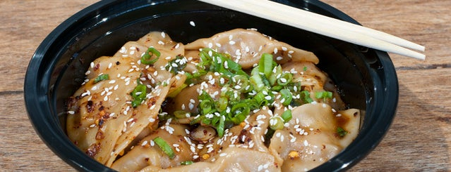 Gu's Dumplings is one of Hotlanta Luv.