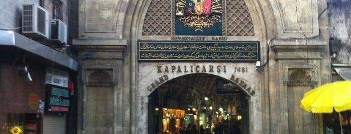 Kapalıçarşı is one of İSTANBUL İÇİN 100 YER.