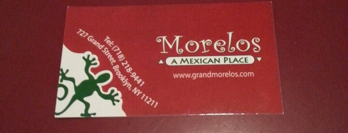 Grand Morelos is one of Williamsburg/Greenpoint Food.