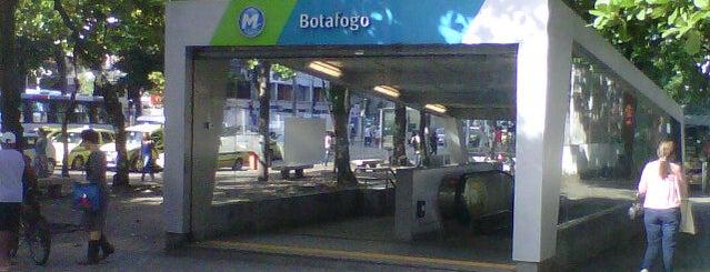 MetrôRio - Estação Botafogo is one of Arredores.