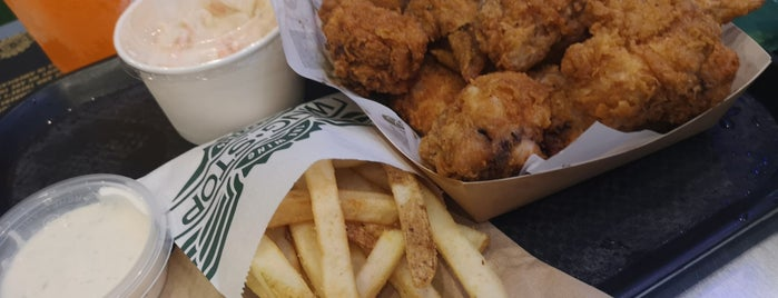 Wingstop is one of Coca Cola Freestyle in Singapore.