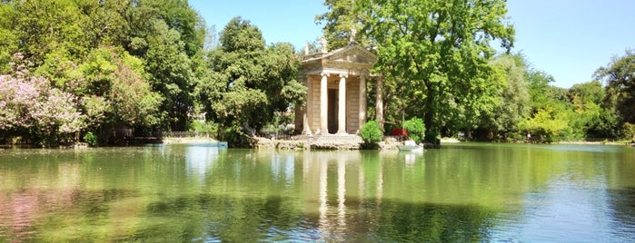 Villa Borghese is one of Rome / Roma.