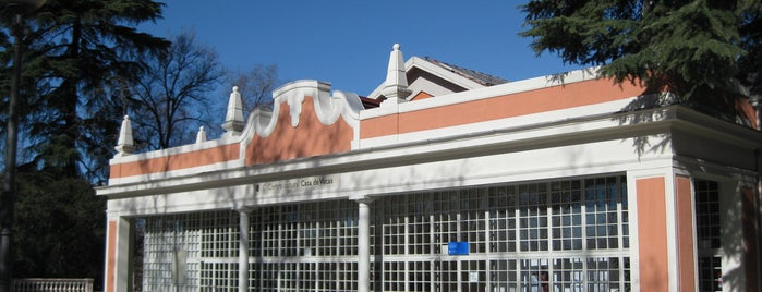 Centro Cultural Casa de Vacas is one of Sitios chulis de Madrid.