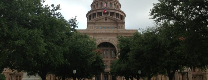 Texas State Capitol is one of All Caps.