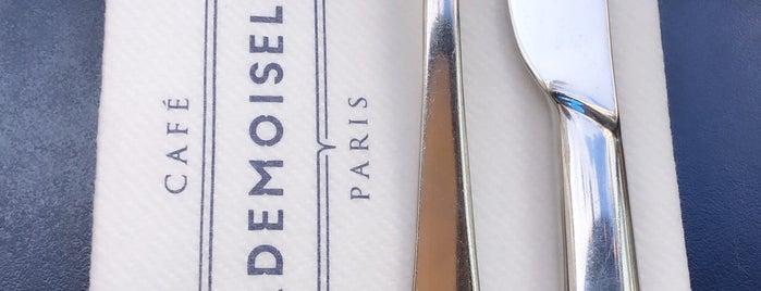 Café Mademoiselle is one of Paris.