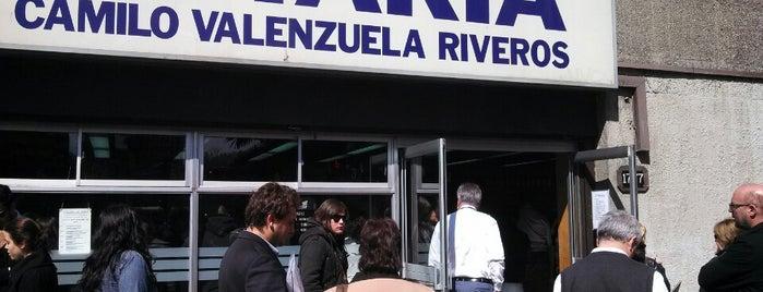 Notaría Camilo Valenzuela Riveros is one of Tempat yang Disukai Sebastian.