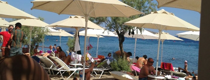 Kefi Beach Club is one of Bodrum.