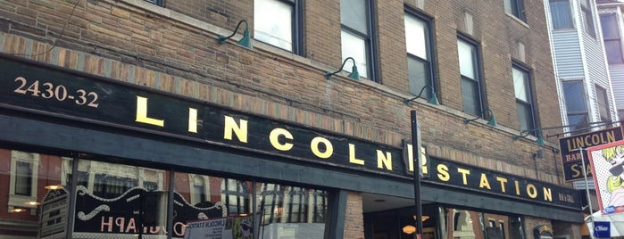 Lincoln Station is one of chicago spots pt. 3.