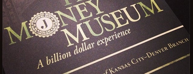 Money Museum At The Federal Reserve is one of Denver Places.