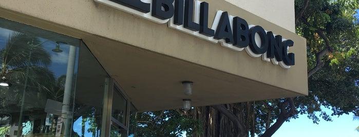 Billabong is one of My Favorite Oahu.