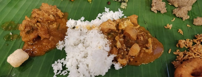 Kumar's South Indian Village Cuisine is one of Healthy Lunch.