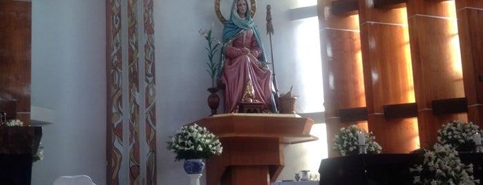 Parroquia Madre Admirable is one of Tempat yang Disukai MarMich.