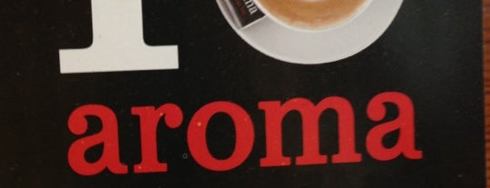 aroma espresso bar is one of Kiev, Ukraine.