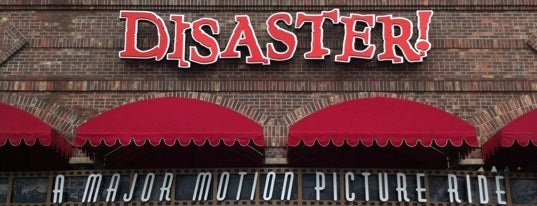 Disaster!: A Major Motion Picture Ride...Starring You! is one of Favorite Places to visit!.