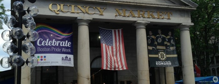 Faneuil Hall Marketplace is one of Boston, MA.