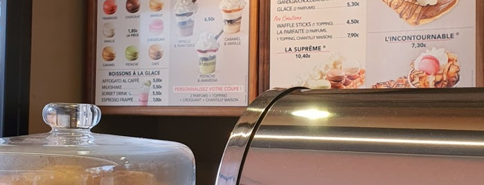 Amorino Gelato is one of Samet 님이 좋아한 장소.