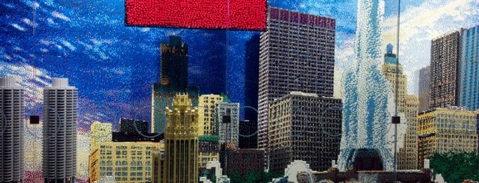The LEGO Store is one of Traveling Chicago.