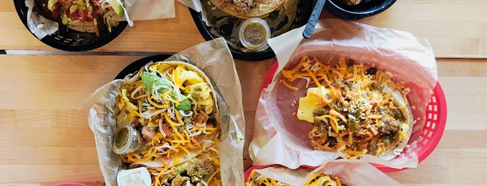 Torchy's Tacos is one of Kim's Saved Places.