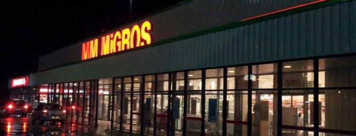 Migros is one of Tempat yang Disukai Erkan.