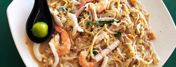 Xiao Di Fried Prawn Noodle is one of Locais salvos de C.