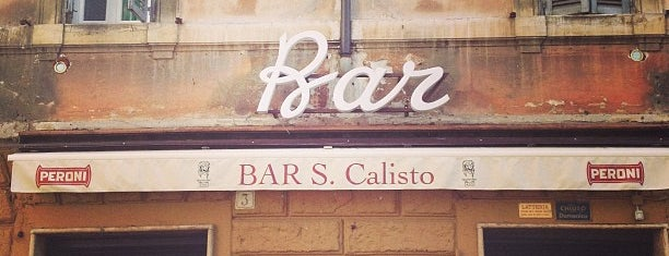 Bar San Calisto is one of italy.