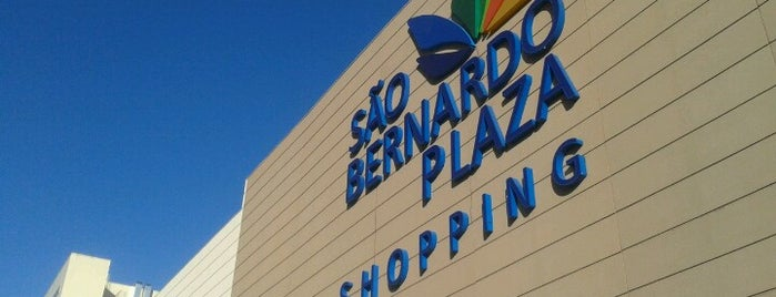 São Bernardo Plaza Shopping is one of Elcio : понравившиеся места.