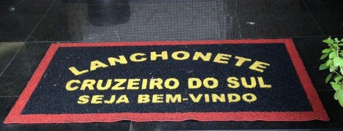 Lanchonete Cruzeiro do Sul is one of Rodrigo Chafik'in Beğendiği Mekanlar.