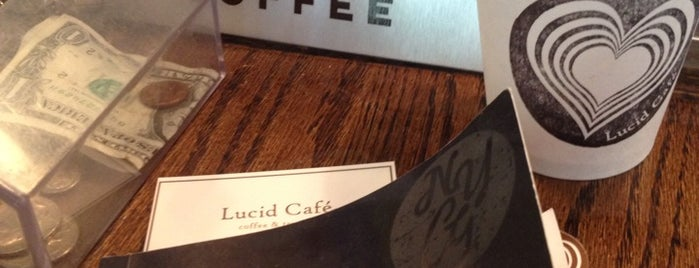 Lucid Cafe is one of NYC coffee shops to try.