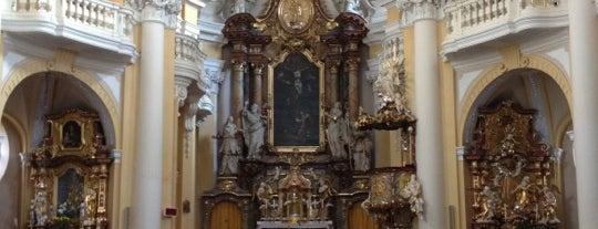 Kostel sv. Máří Magdaleny is one of Карловы Вары.