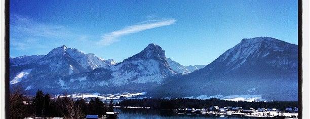 Wolfgangsee is one of salzburg.