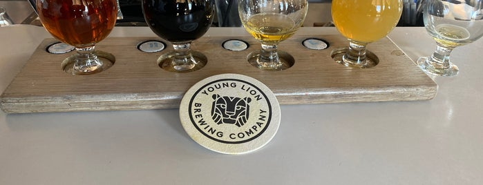Young Lion Brewing Company is one of Babymoon ❤️🤰🏼👨👩👦.