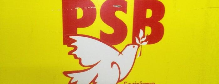 PSB Nacional is one of Tempat yang Disukai Pedro.